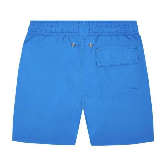 Solid Swim Trunk,  Electric Blue