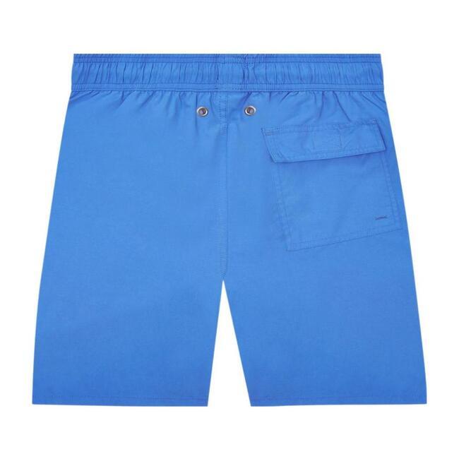 Men's Solid Swim Trunk,  Electric Blue