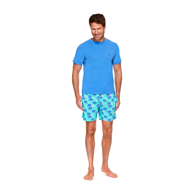 Men's T-Shirt, Atlantic Blue