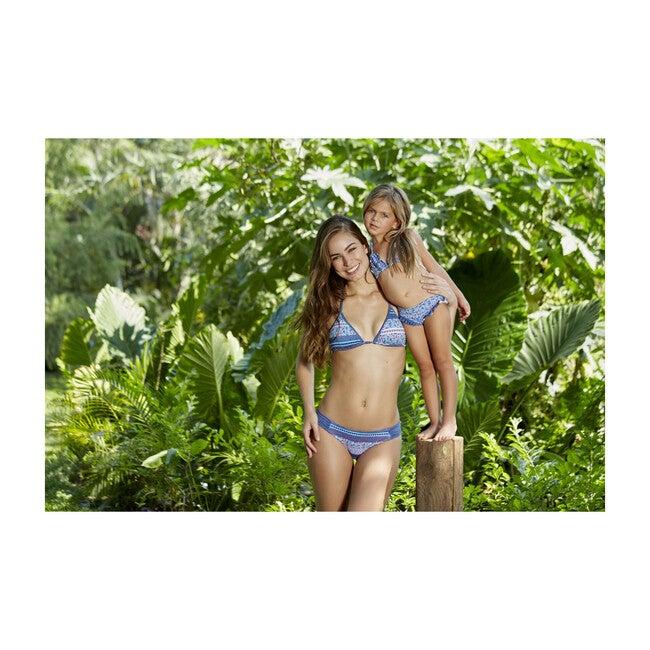 Marella Bikini Top, Blue