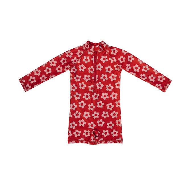 Marguerite Suit, Red