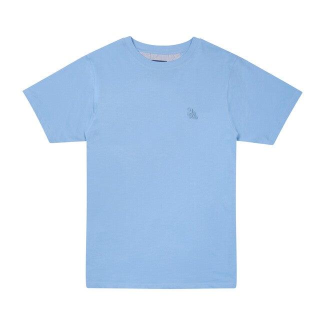 Boy's T-Shirt, Chambray Blue