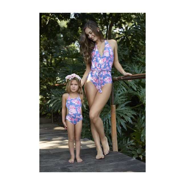 Lili One Piece, Pink and Blue