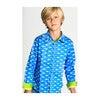 Long Sleeve Mako Sharks, Blue - Shirts - 3