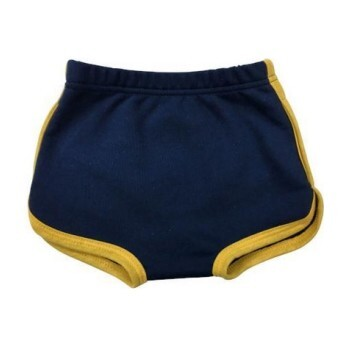 Blue Retro Track Bloomers