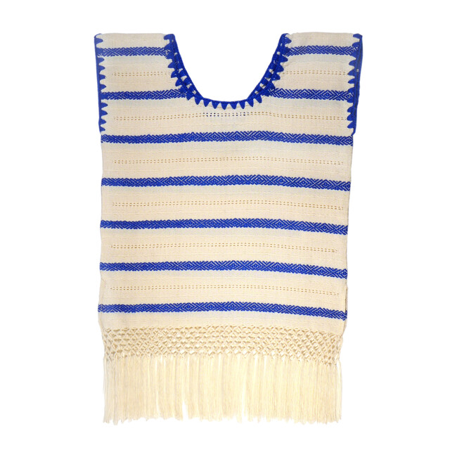 *Exclusive* Mini Lidia Tunic Dress, Navy Stripe