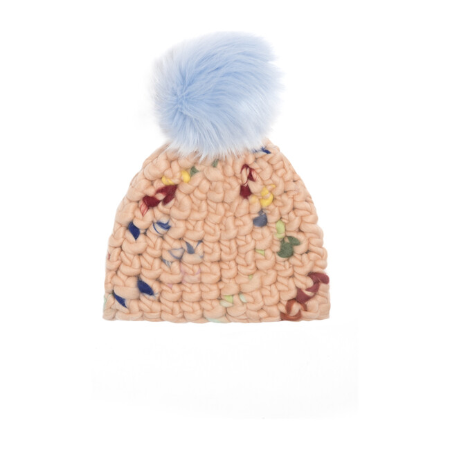 *Exclusive* Beanie (Faux) Pomster, Doodle - Hats - 1