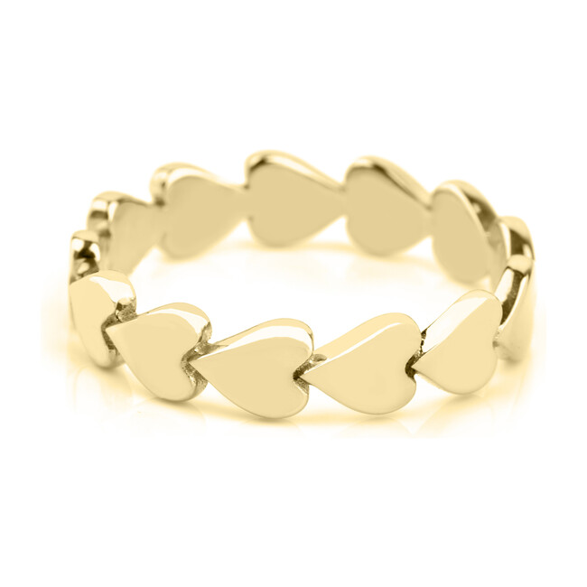 Gold Perfectly Imperfect Heart Ring
