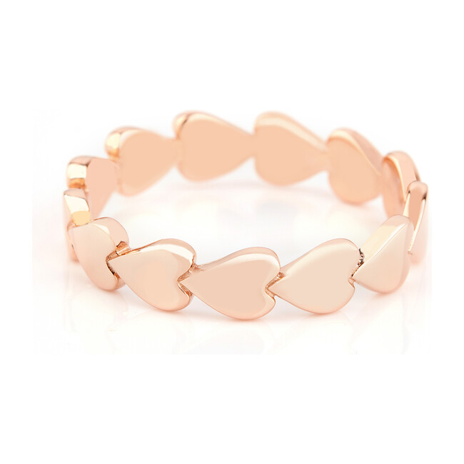 Rose Gold Perfectly Imperfect Heart Ring