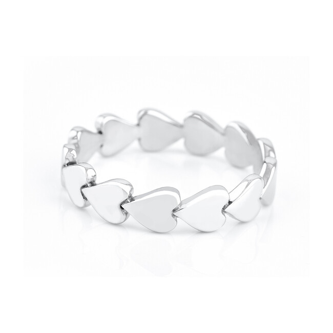 Sterling Silver Perfectly Imperfect Heart Ring