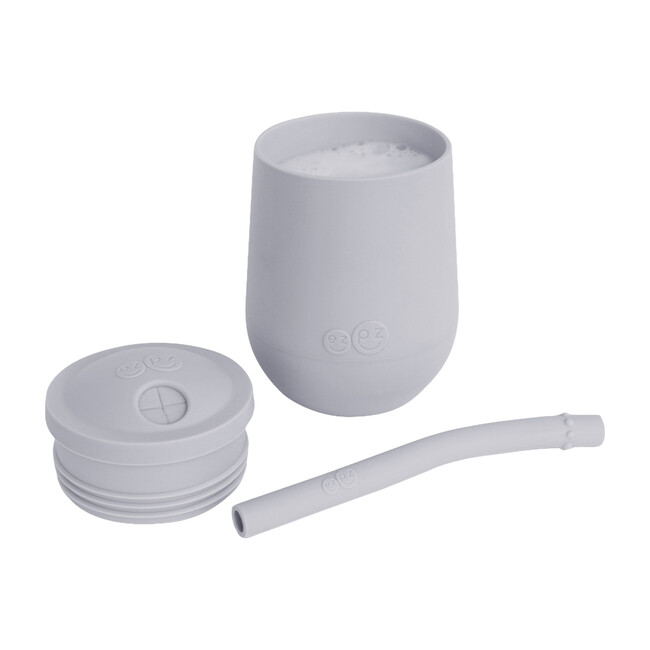 Mini Cup + Straw Training System, Pewter