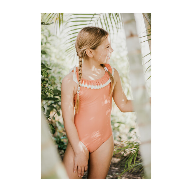Penelope Swimsuit, Coral Pink