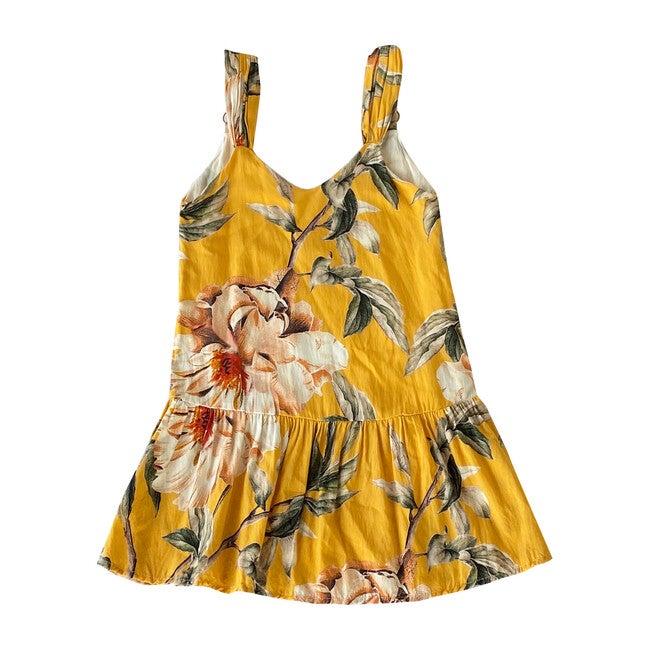 Flower Flush Maggie Dress, Yellow