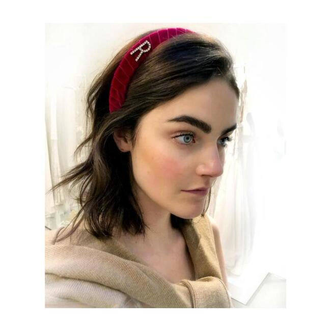 Monogram Headband, Lipstick