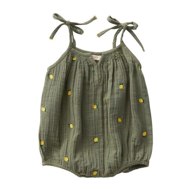 Ava Bubble, Lemons Embroidery