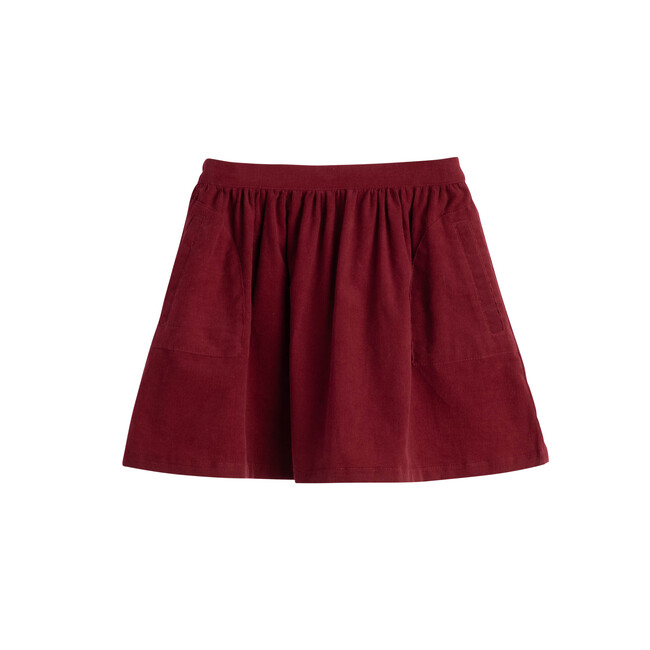 Cassie Skirt, Cranberry