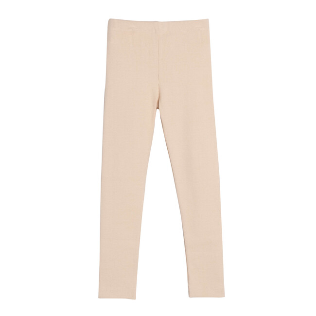 Reese Ribbed Legging, Natural