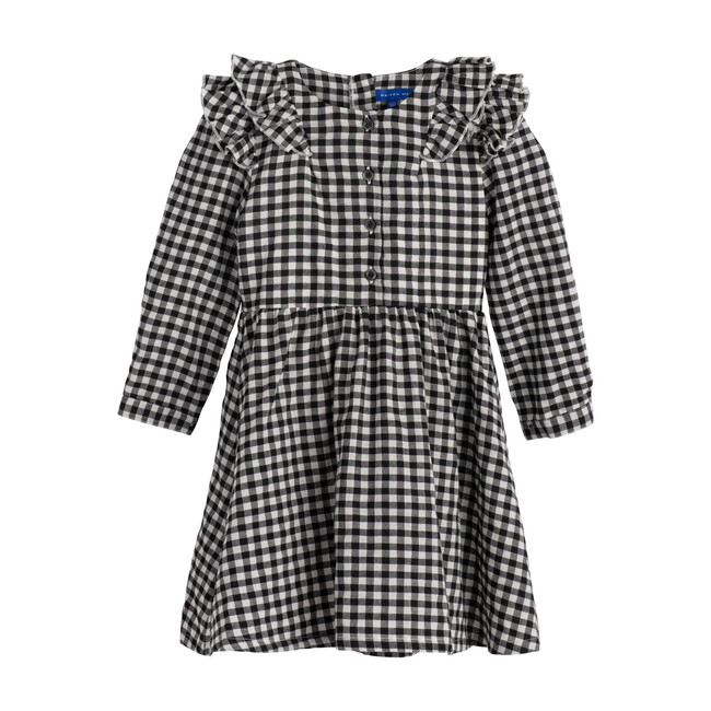 Lexi Dress, Black & White Check