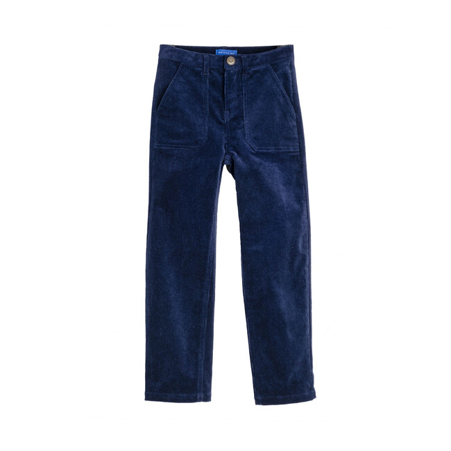 Campbell Cord Jeans, Navy