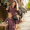 Caroline Women's Tiered Dress, Red Multi Flannel - Dresses - 2