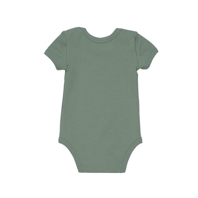 Perry Short Sleeve Bodysuit, Sage