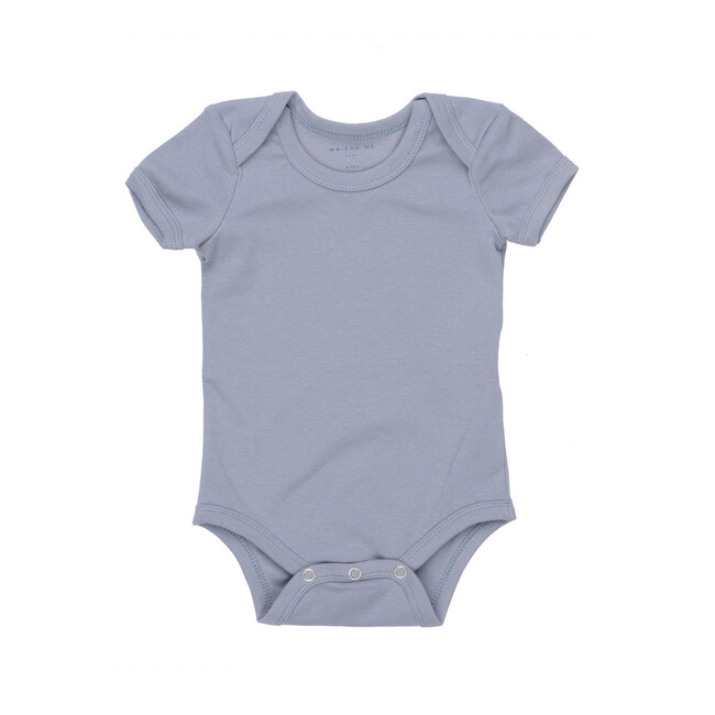 Perry Short Sleeve Bodysuit, Blue