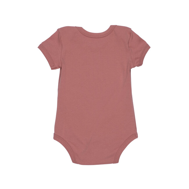 Perry Short Sleeve Bodysuit, Rose