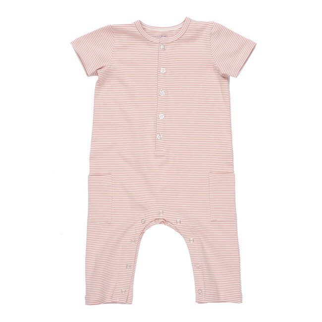 Wilson Coverall, Pink Stripe