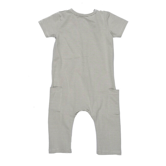Wilson Coverall, Sage Stripe
