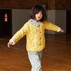 Esme Quilted Jacket, Sunshine Yellow Flower on Vine - Jackets - 2