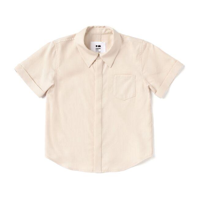 Button Down Shirt, Cream
