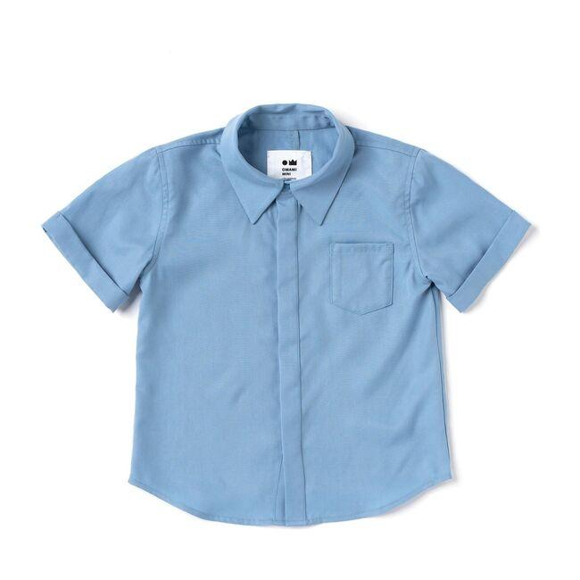 Button Down Shirt, Blue