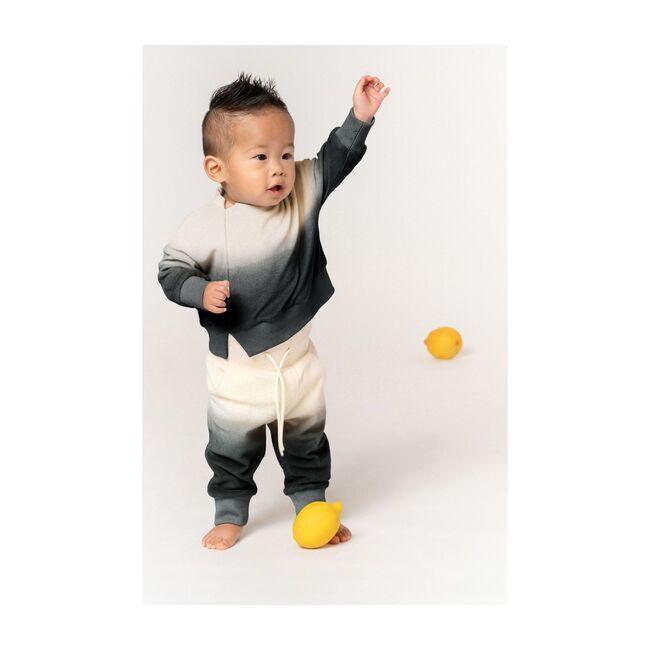 Baby Terry Sweatpants, Black Ombre