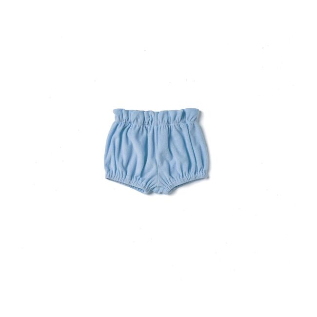 Baby Terry Cloth Bloomers, Blue