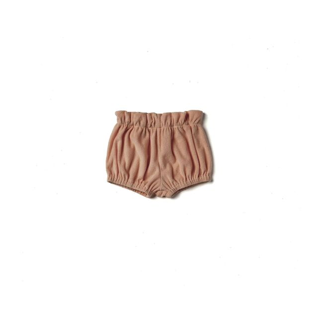 Baby Terry Cloth Bloomers, Mocha
