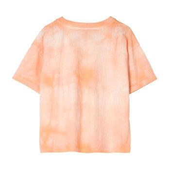 Queen T-Shirt, Peach Tie Dye