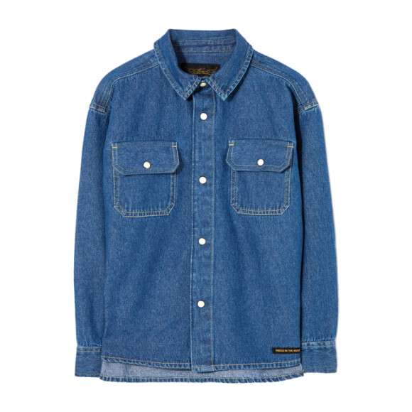 New Dusk Denim Shirt, Blue