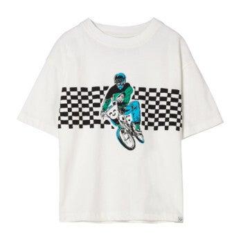 King Off White Bmx T-Shirt, White