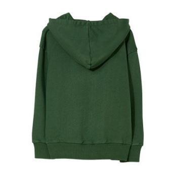 Joey Zip Hooded Sweatshirt, Khaki
