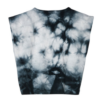 Haley Soft T-Shirt, Black Tie Dye
