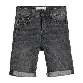Edmond Denim Shorts, Grey