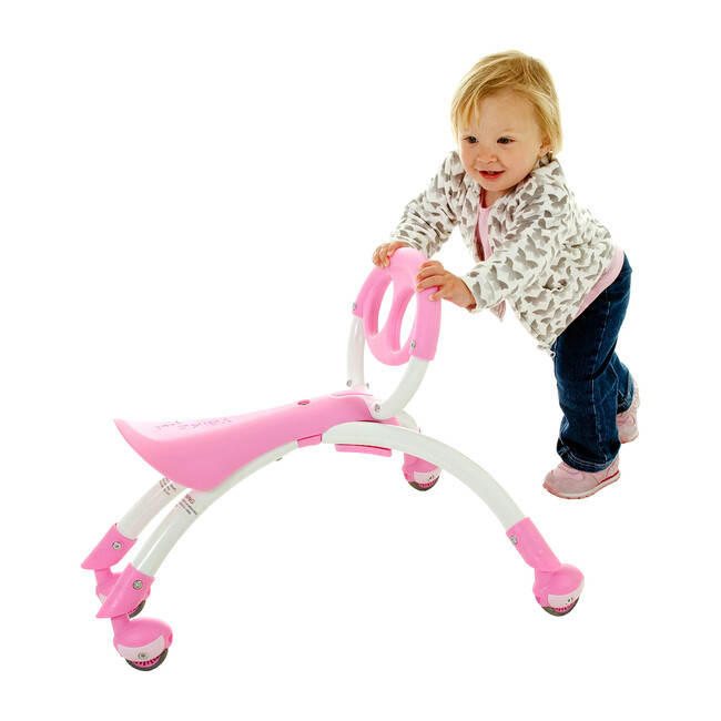 Pewi Walker & Ride-On, Pink
