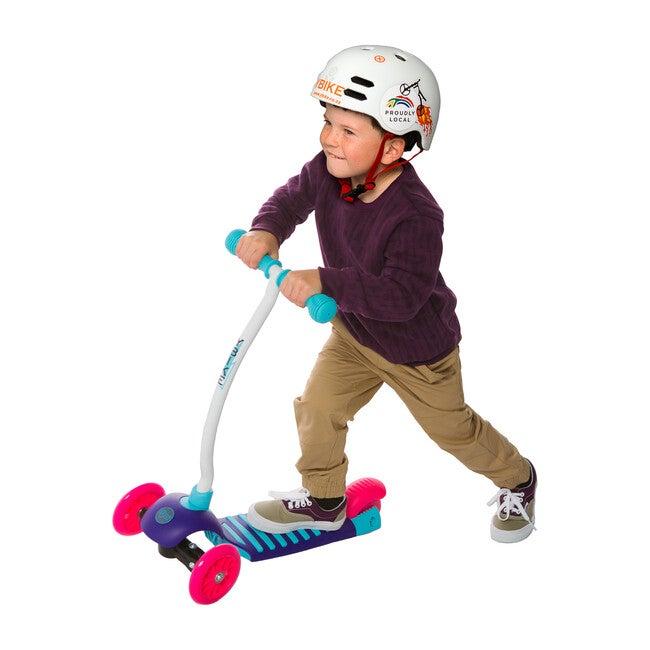 Kids Cruze 3-Wheel Kick Scooter, Raspberry