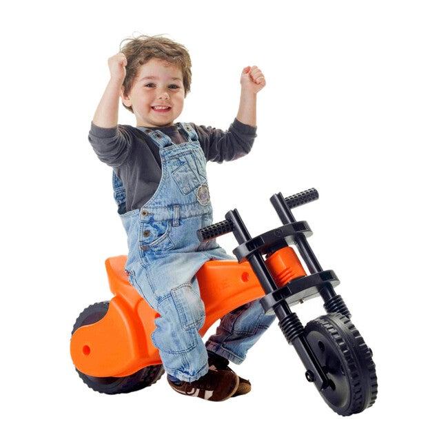 YBIKE Original Balance Bike Ride-On, Orange