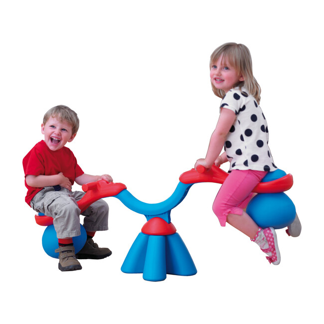 Spiro Bouncer Seesaw, Blue/Red