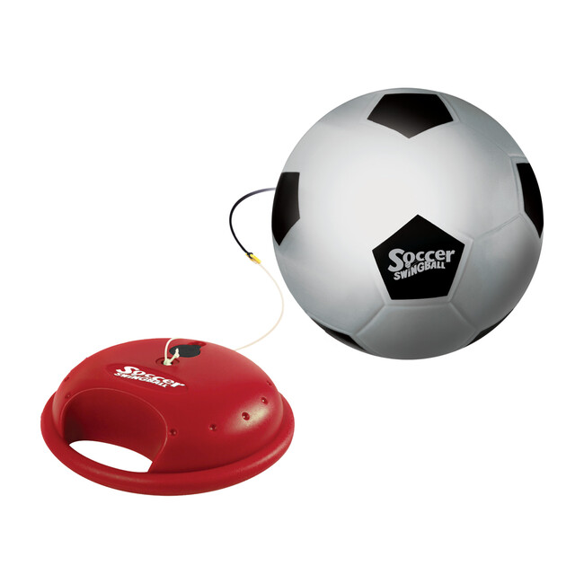 Swingball Reflex Soccer Game, Red/Yellow