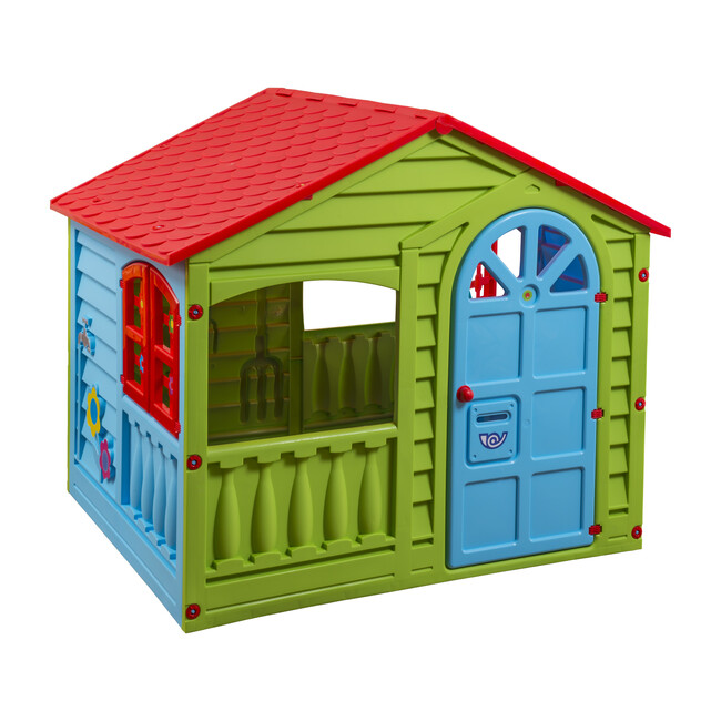 House of Fun, Green, Red & Blue
