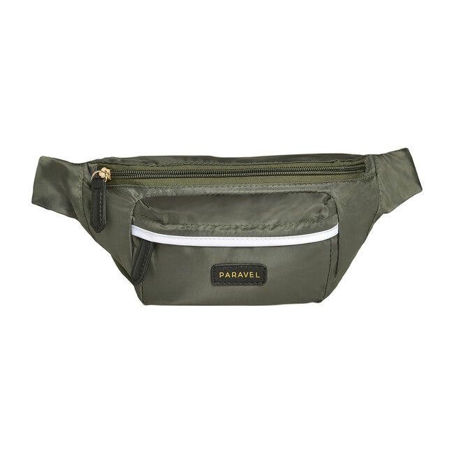 Monogrammable Fanny Pack, Safari Green - Bags - 0