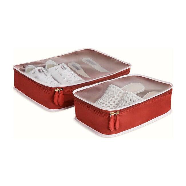 Shoe Cube Duo, Bepop Red