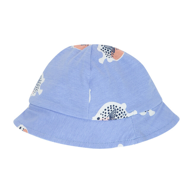 Bucket Hat, Lavendar Blue BlowFish